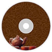 茶叶光盘设计PSD