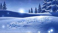 庆祝2015新年圣诞开场视频片头