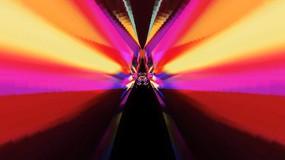 五颜六色异常炫丽线条放射素材