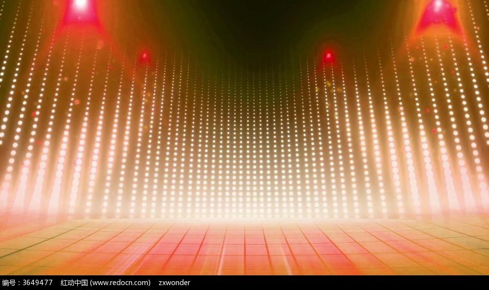 视频_动感节奏舞台视频素背景材
