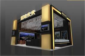 房展特装展台3d模型含灯光贴图