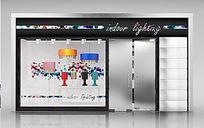 精品服装店3D模型+灯光贴图
