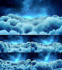 蓝天白云梦幻视频