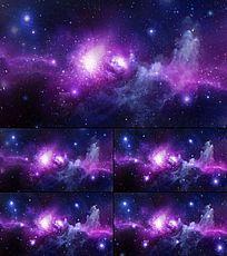 震撼宇宙星河LED视频素材