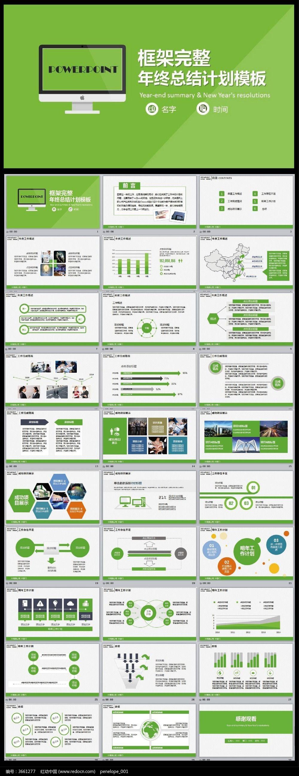 新年工作计划 项目展示 新年工作报告 公司业绩 经营报告 商务PPT模