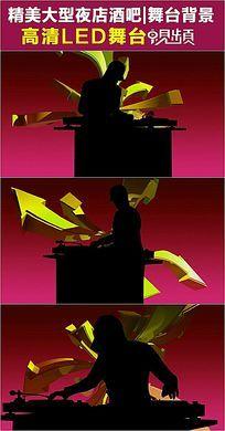 箭头DJ音乐人物LED视频