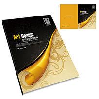 金色时尚花纹封面设计