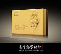 四季养生包装盒(含平面矢量文件)
