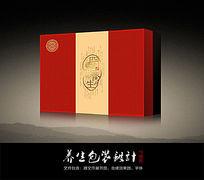 中国风四季养生包装礼盒(含平面矢量文件)