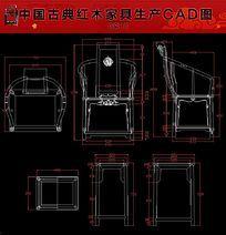 中式图库cad图纸家具文化_中式图片cad平面图家具平面设计图片墙图片