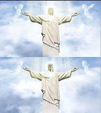 基督教晚会背景视频