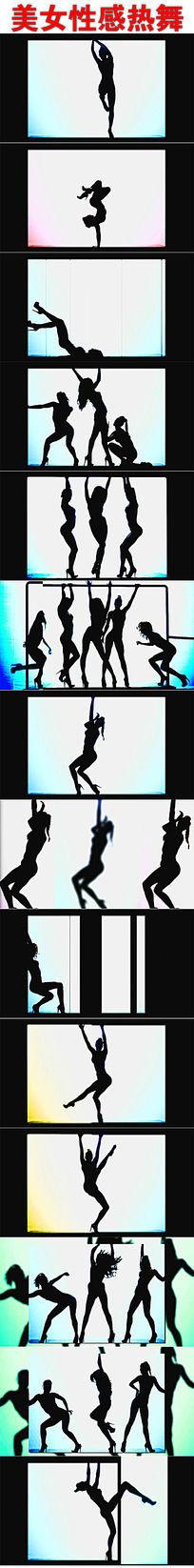 性感美女热舞视频素材