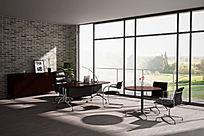 高质量相片级办公家具3d模型产品表现