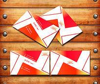 邮政快递公司名片设计