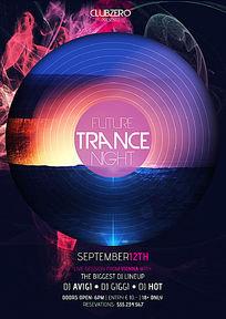 个性创意DJ音乐海报设计
