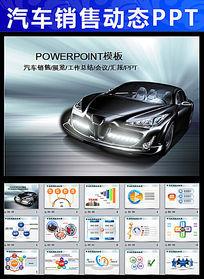 汽车4S店生产销售PPT