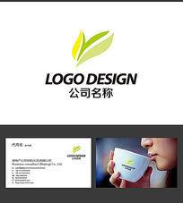 玉兰花LOGO标志设计