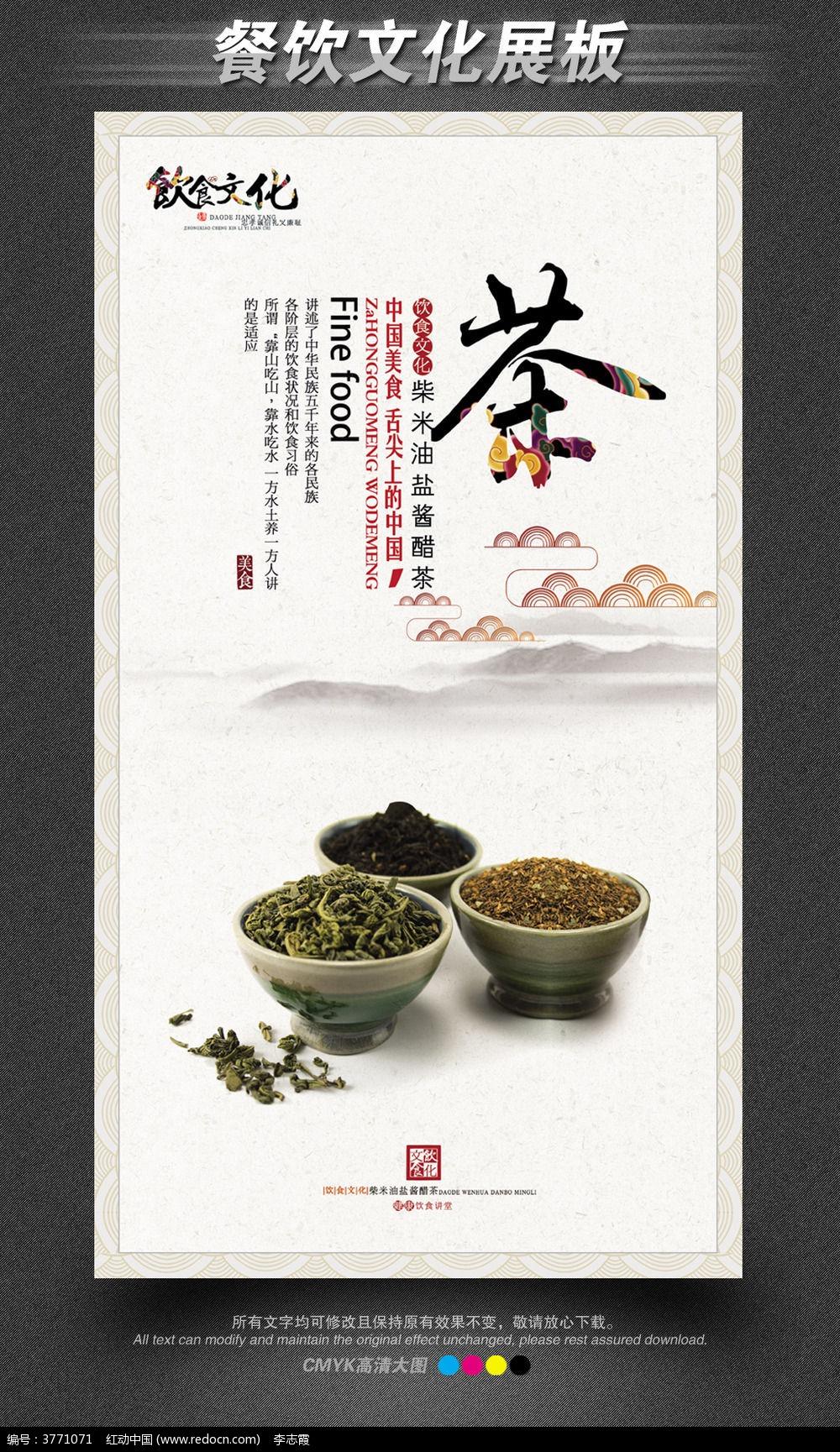 中国饮食文化展板之之茶
