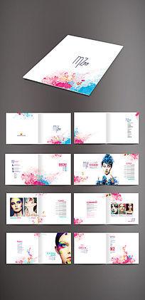彩妆画册版式设计