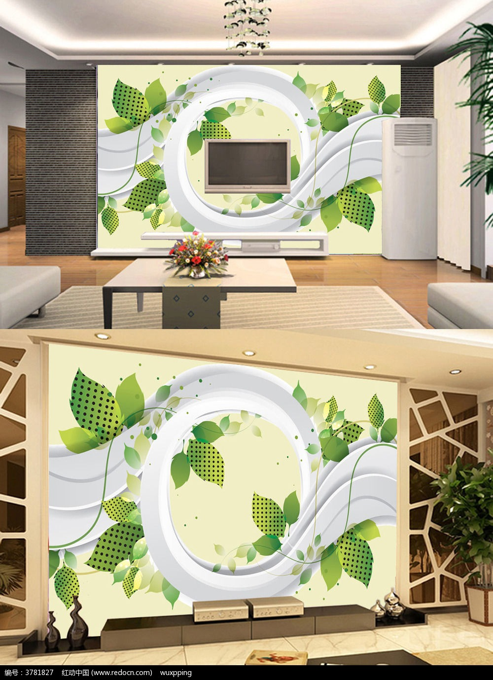 欧式 电视背景墙