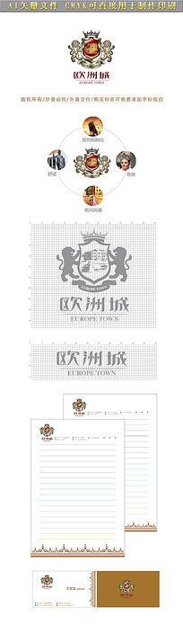 欧洲城房地产logo