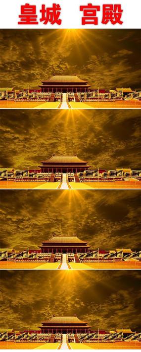 大气皇宫背景视频