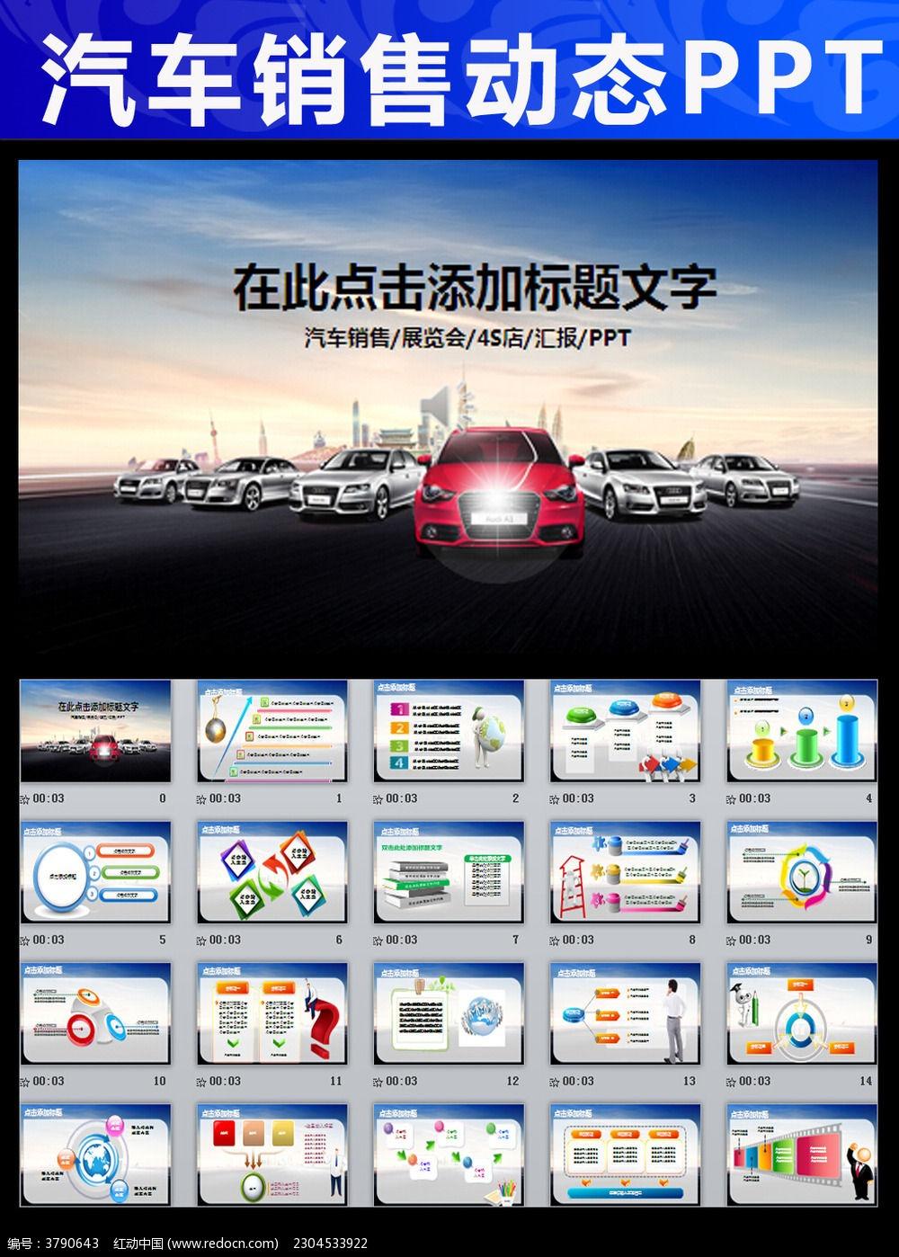 汽车4s店生产销售保养汽配公司ppt