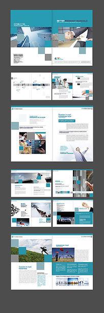 商务画册版式设计 PSD
