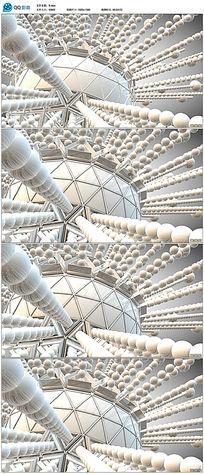 3d圆球立体空间视频