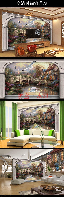 标签:欧式背景墙 古典背景墙