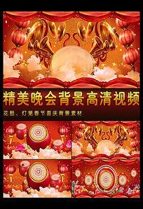 喜庆鼓春节视频背景素材