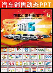 2015汽车行业年终总结新年计划PPT