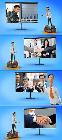 电子商务企业产品推广AE模板