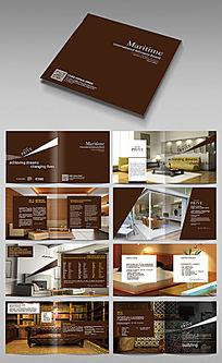 品牌家具画册版式模板设计