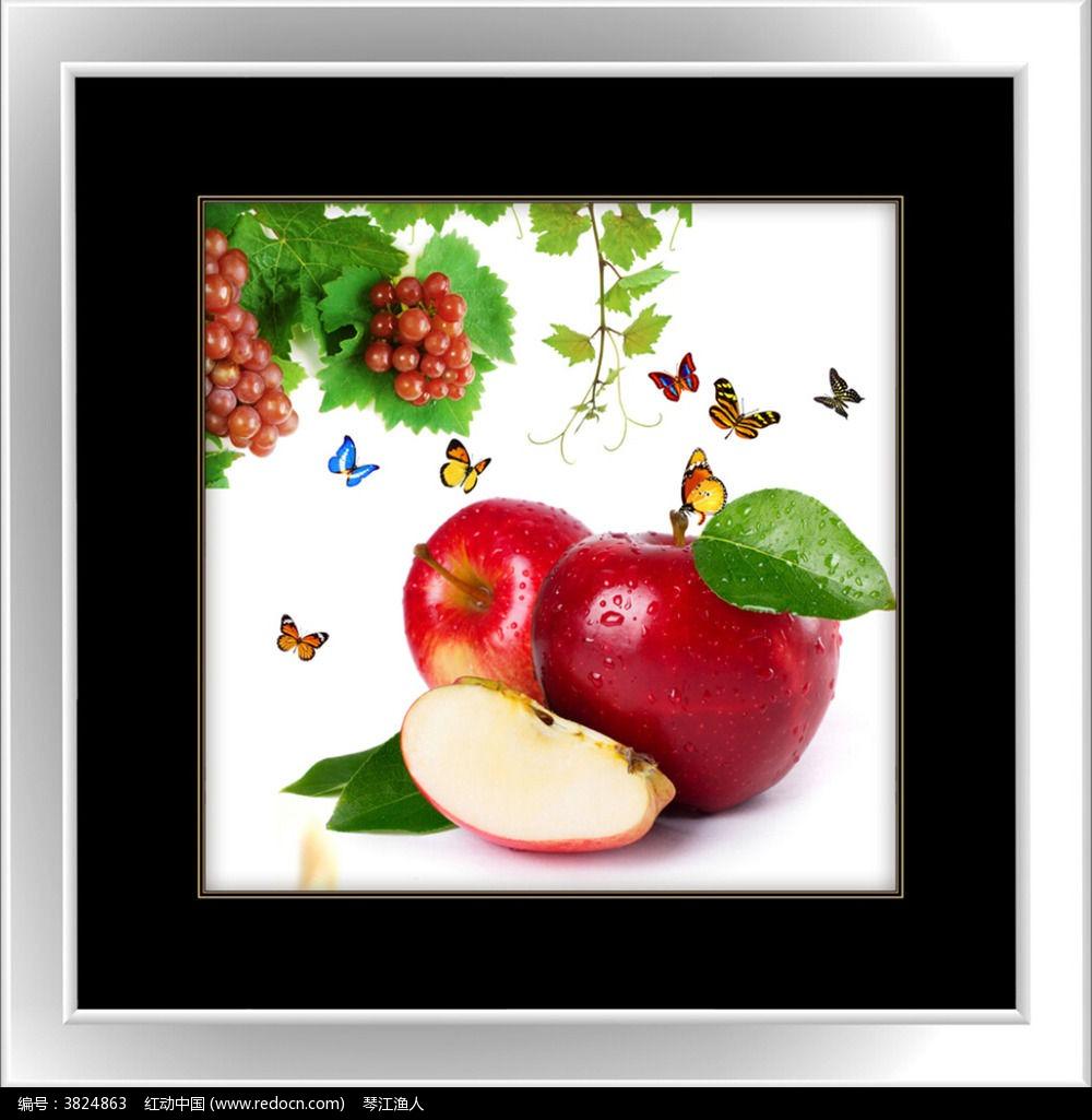 水果餐厅装饰画图片