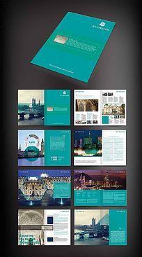 国外旅游宣传画册版式