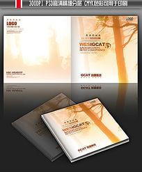 流金岁月纪念册宣传册封面模板