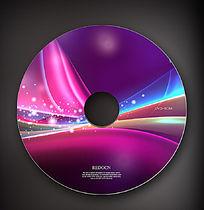 时尚炫光dvd光盘设计