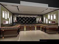3D珠宝店模型和效果图