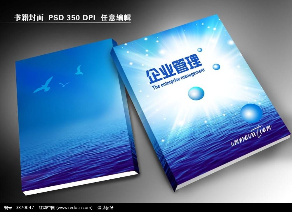 ibn创业管理画册封面图片