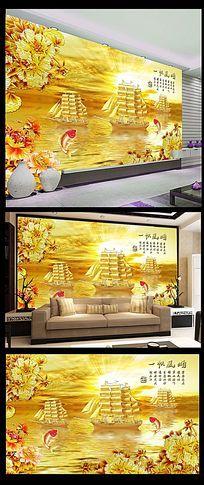 金色湖上电视墙