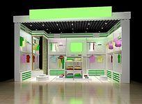 服装店3D模型和效果图