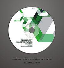 高档科技DVD光盘封面
