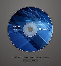 蓝色科技数码光盘封面