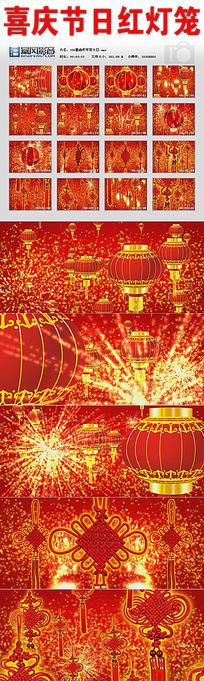 喜庆节日红灯笼视频