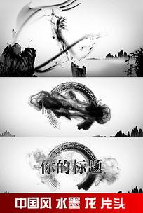 中国水墨龙片头视频