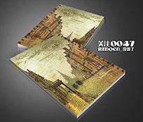 欧式建筑笔记本封面