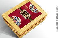富贵瑞礼月饼包装盒图片