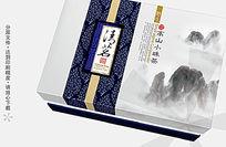 高山小珠茶ps茶叶包装设计