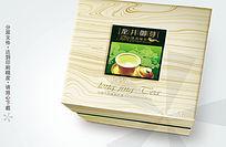 龙井御芽茶叶盒包装